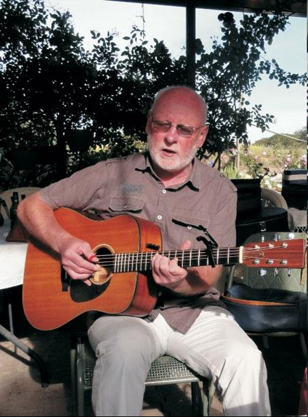 Allan Johnston in Port Lincoln session